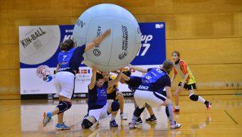 La 10ème Coupe du monde de Kin-Ball se déroulera aux Ponts-de-Cé