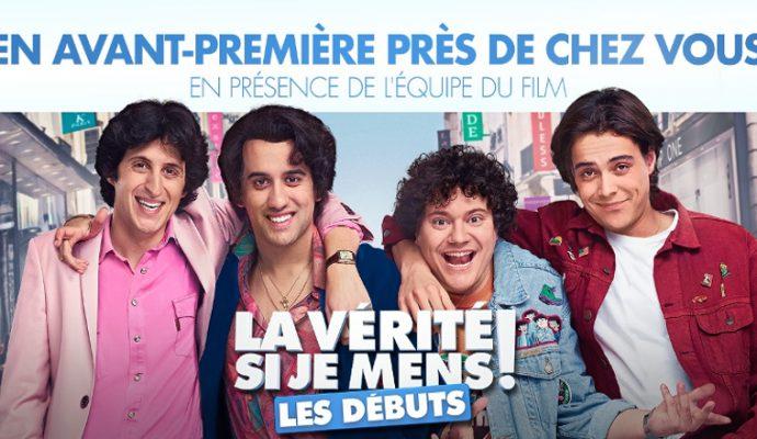 « La vérité si je mens : les débuts » en avant-première au cinéma Pathé en présence de l'équipe du film