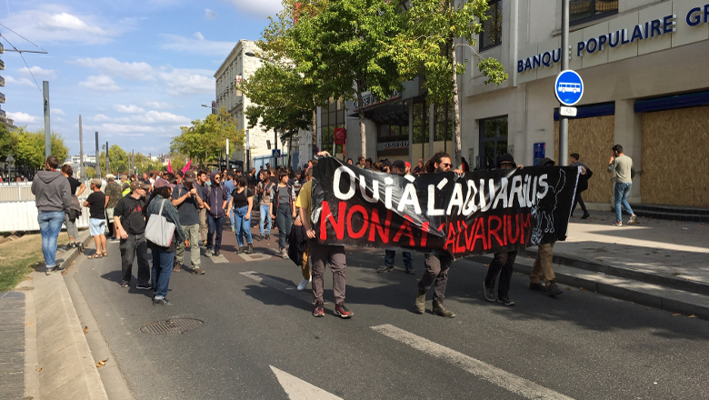 Manifestation antifascistes