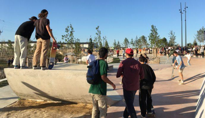 Un nouveau parc urbain ouvre à Saint-Serge