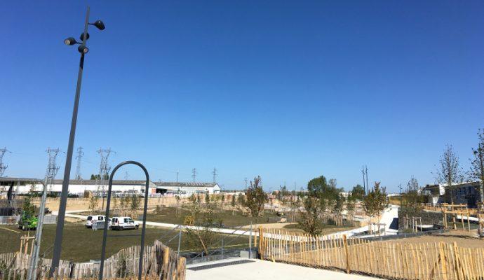 Inauguration du parc Saint-Serge : démonstrations de skate-board et concert au programme