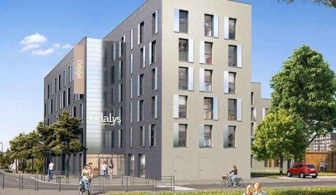 Une résidence étudiante de 173 appartements dans les Hauts-de-Saint-Aubin