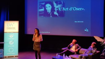 La Fondation de l'Université d'Angers a lancé ses « soirées inspirantes » avec Rim Ridane et Stéphane Moulin