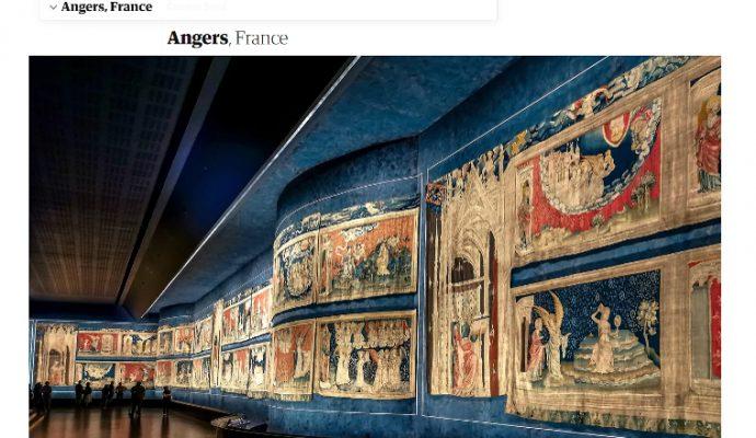 Le journal britannique The Guardian met la ville d'Angers à l'honneur
