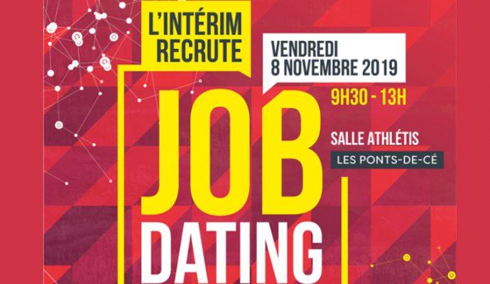 «L'intérim recrute» le 8 novembre à la salle Athlétis des Ponts-de-Cé