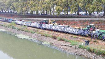 Les agriculteurs se mobilisent à Angers mardi 9 février