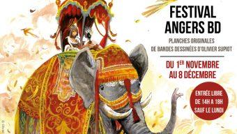 Festival Angers BD : Rive d'Arts accueille jusqu'au 8 décembre une exposition de planches de bandes dessinées d'Olivier Supiot
