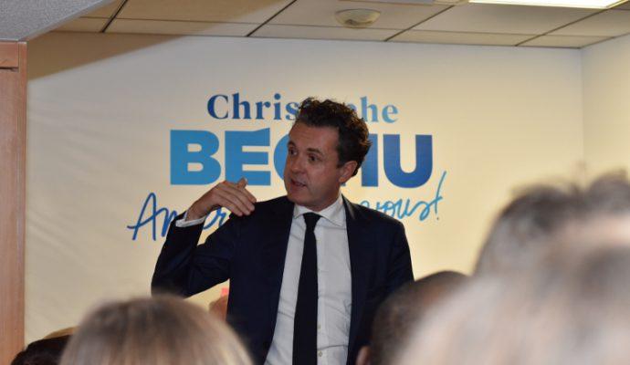 Municipales : Christophe Béchu lance sa campagne