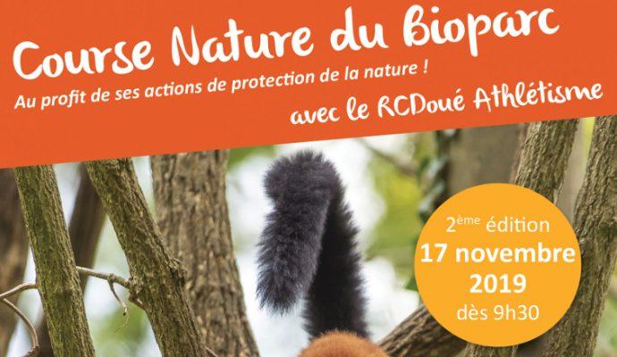 Course Nature au Bioparc de Doué-la-Fontaine ce dimanche
