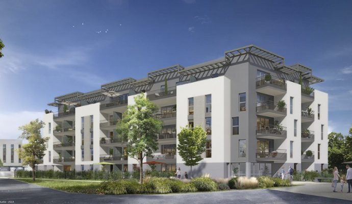 REALITES lance une nouvelle résidence de 58 appartements au sud du quartier Belle-Beille