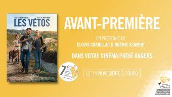 L'équipe du film Les Vétos au Pathé Angers ce jeudi pour une avant-première