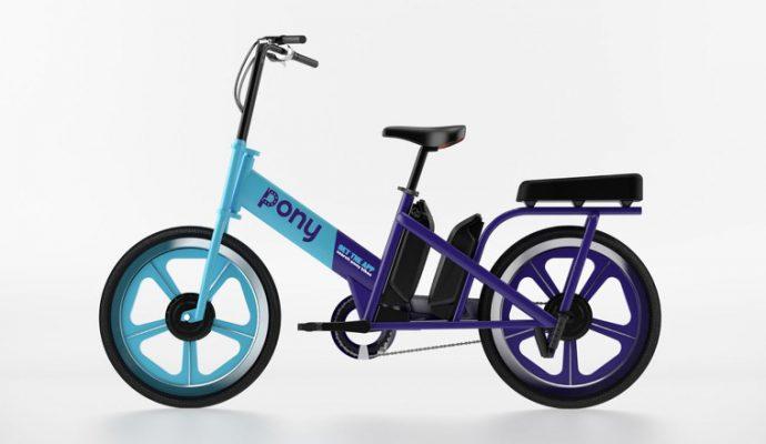 Pony va lancer un vélo électrique deux places en libre-service