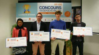 Concours Vegepolys Valley : 4 jeunes pousses récompensées pour leurs innovations en faveur de la production végétale de demain