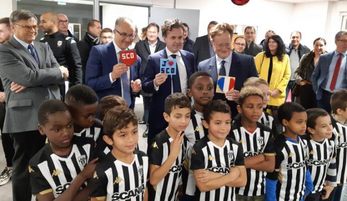 La Fondation d'Angers SCO ouvre une école « noir & blanc » à La Roseraie