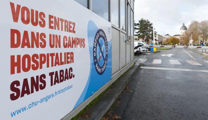 Fumer est désormais interdit dans l'ensemble du parc hospitalier du CHU d'Angers