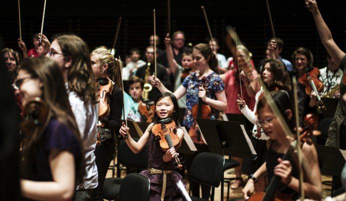 Une centaine d'enfants angevins accède à la musique classique grâce à Démos