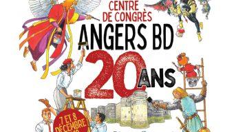 Le festival Angers BD fête son 20e anniversaire les 7 et 8 décembre