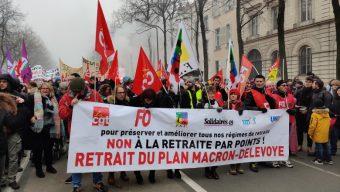 Réforme des retraites : de nouvelles manifestations prévues mercredi et jeudi