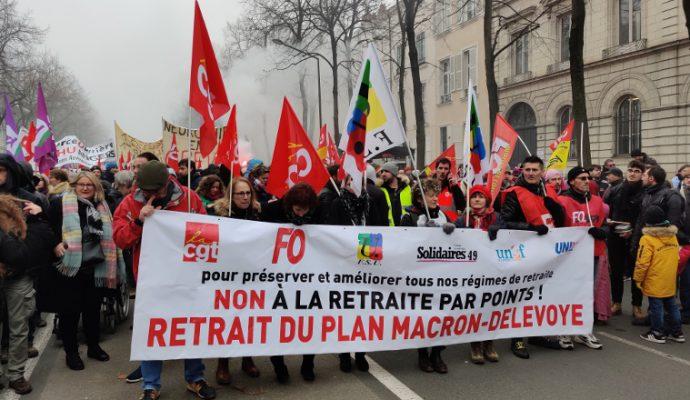 Grève du 17 décembre : plusieurs manifestations prévues dans le Maine-et-Loire