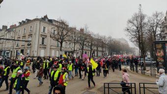 Forte mobilisation à Angers contre la réforme des retraites