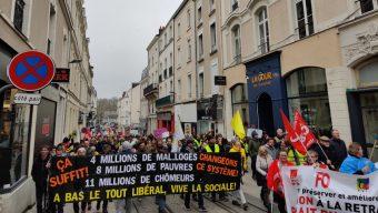 De nouvelles manifestations contre la réformes des retraites en Maine-et-Loire ce jeudi 9 janvier