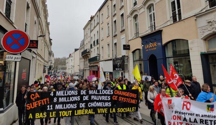 Réforme des retraites : 6 500 manifestants ce mardi 17 décembre à Angers
