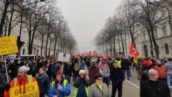 Près de 850 personnes ont manifesté contre la réforme des retraite à Angers