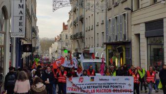 2 000 manifestants à Angers ce samedi contre la réforme des retraites