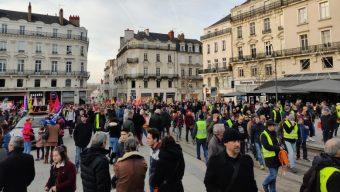 900 manifestants contre la réforme des retraites à Angers