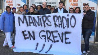 Les manipulateurs en radiologie du CHU poursuivent leur grève