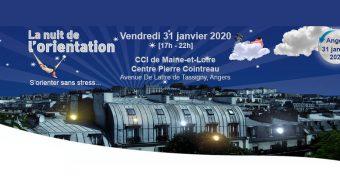 La Nuit de l'Orientation 2020 se tiendra le vendredi 31 janvier