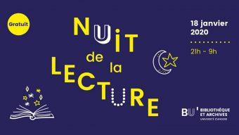 4e édition de la Nuit de la lecture le samedi 18 janvier