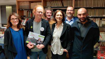 La liste « Angers écologique et solidaire  » annule également son meeting