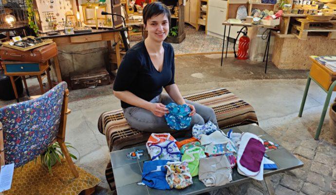 Une jeune maman angevine lance un service de location de couches lavables