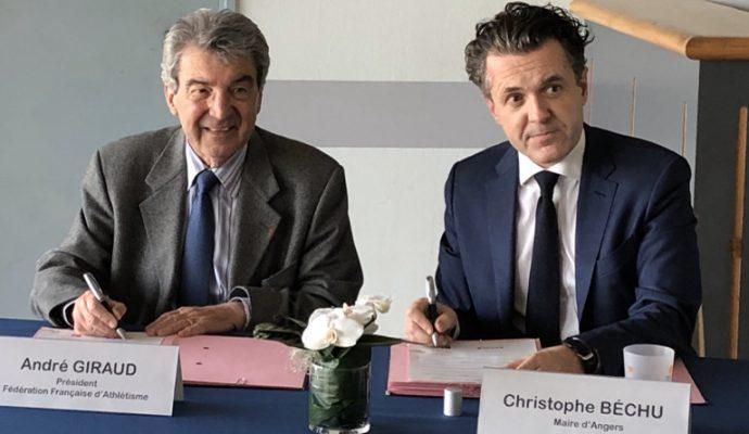 Angers accueillera en 2024 les championnats de France élite d'athlétisme