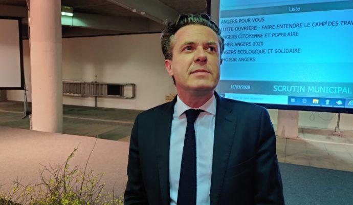Christophe Béchu réélu président d'Angers Loire Métropole