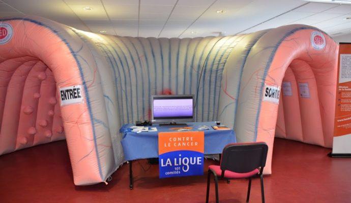 La Ligue contre le Cancer organise le Côlon Tour au CHU d'Angers les 5 et 6 mars