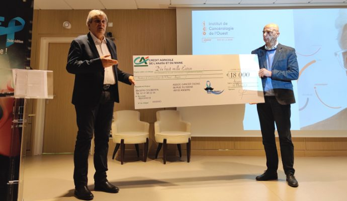 L'association « Cancer Osons » fait un don de 18 000 € à l'Institut de Cancérologie de l'Ouest