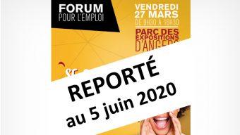Le Forum pour l'emploi est reporté au mois de juin