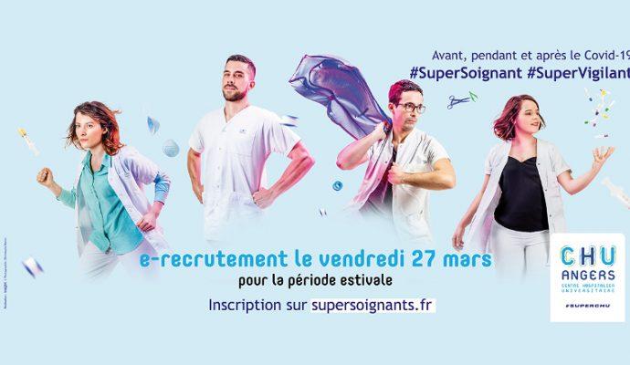 Job-dating : le 27 mars le CHU d'Angers recrute pour cet été