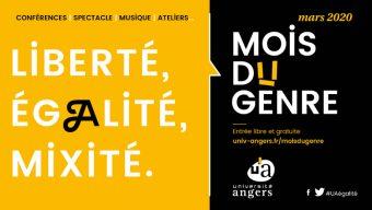 4e édition du Mois du genre de l'Université d'Angers jusqu'au 25 mars