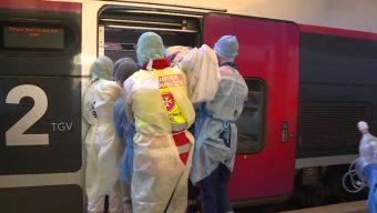 Coronavirus : six patients du Grand Est transférés au CHU d'Angers par TGV sanitaire