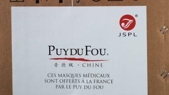 Coronavirus : le Puy du Fou offre 500 000 masques
