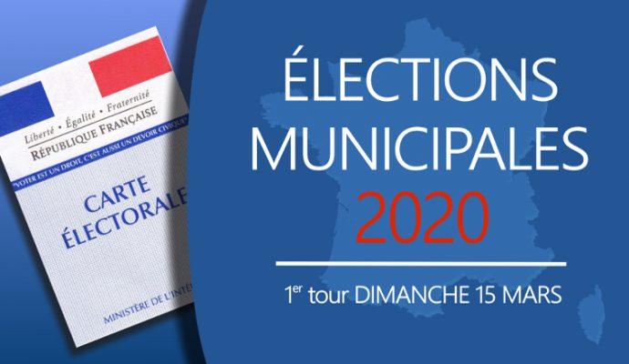 Elections municipales 2020 : les résultats du premier tour