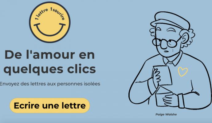 Confinement : une plateforme en ligne pour envoyer des lettres aux résidents des Ehpad