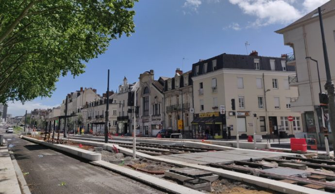 Travaux du tramway : plusieurs boulevards fermés à la circulation jusqu'à la mi-mai