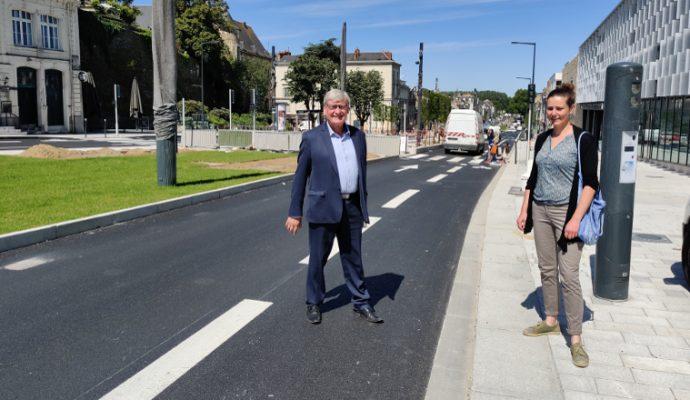 Plusieurs nouveaux aménagements pour les vélos à Angers