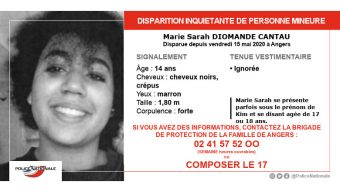 Disparition inquiétante d'une adolescente : un appel à témoins est lancé