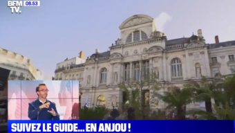 L'Anjou et Angers à l'honneur sur BFM TV