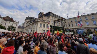 Plusieurs centaines de manifestants contre le racisme et les violences policières à Angers